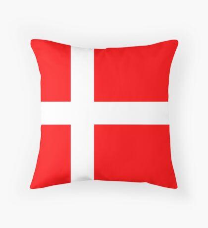 Denmark, national id Throw Pillow
