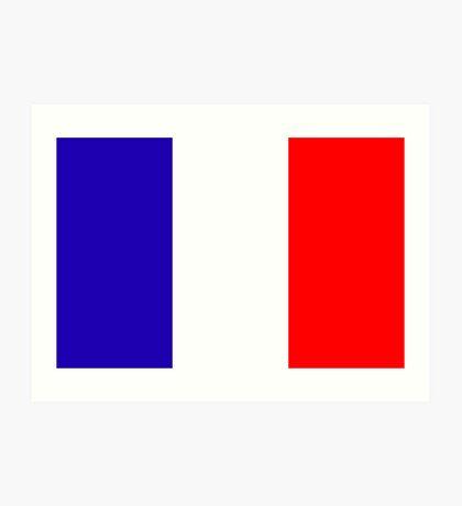 France, national id Art Print