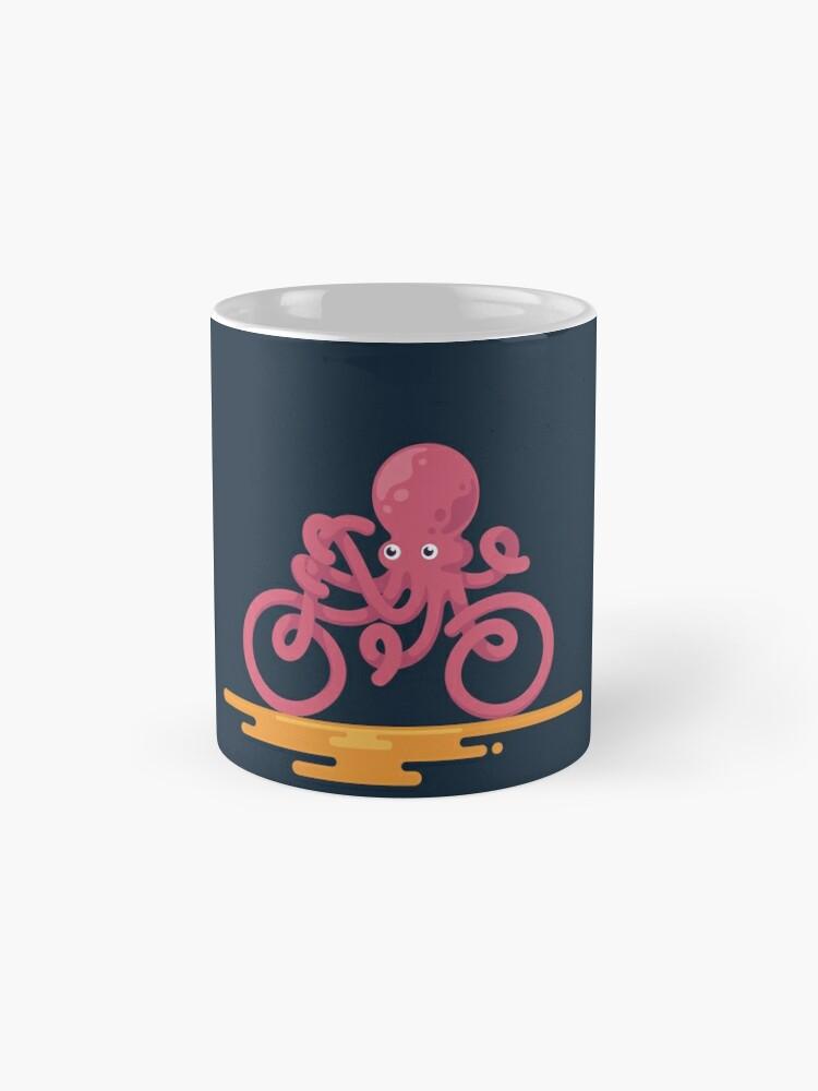 Alternative Ansicht von Octopus Fahrrad Tassen