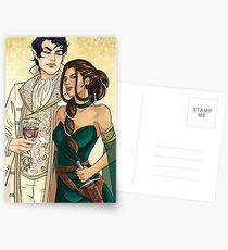 Cardan and Jude Postcards