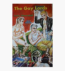 Pulp Fiction / The Gay Lords Photographic Print