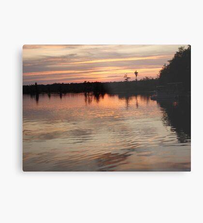 Sunset July 17, 2009 Metal Print