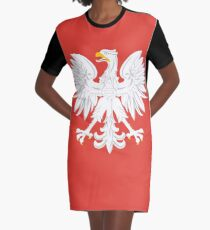 POLAND COAT OF ARMS (1955-1980) Graphic T-Shirt Dress