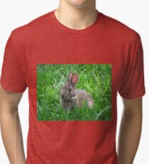 Bunny Rabbit Tri-blend T-Shirt