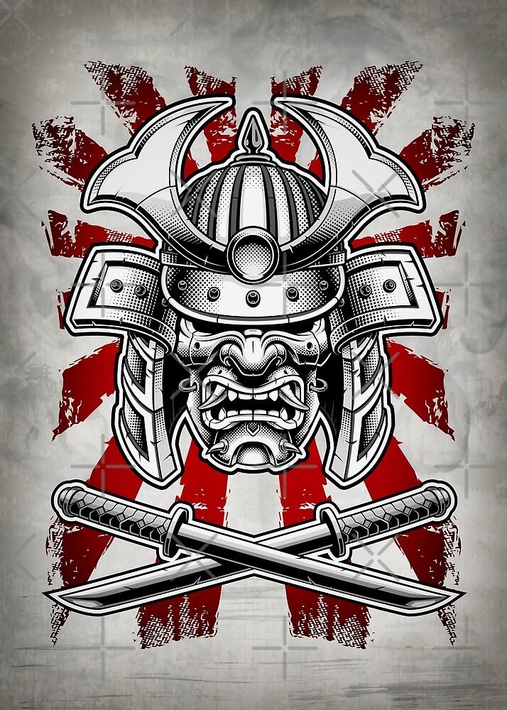 Samurai-Maske von DCornel
