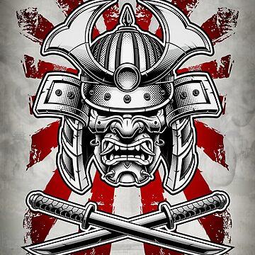 Samurai Mask by DCornel