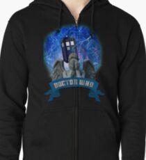 Doctor Who Return of the Weeping Angels Zipped Hoodie