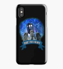 Doctor Who Return of the Weeping Angels iPhone Case