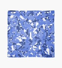 Off-Beat Geometric Shapes Blue Colors Scarf