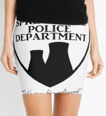 Springfield PD Mini Skirt