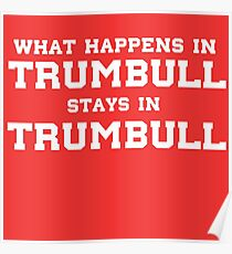 What Happens In Trumbull Stays In Trumbull Poster