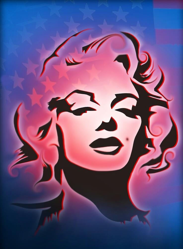 Marilyn Monroe by Cliff Vestergaard
