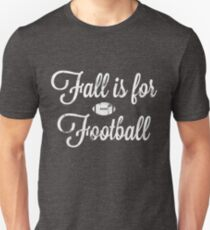 Fall is for Football Distressed Southern Gothic Design Unisex T-Shirt