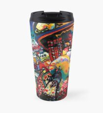 Wassily Kandinsky Moscow Cityscape Abstract Modern Art Travel Mug