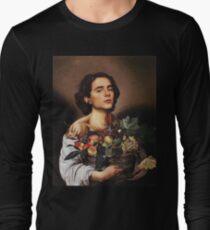 Timothee Chalamet Painting Meme Long Sleeve T-Shirt