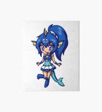 Vaporeon Magical Girl Chibi Art Board