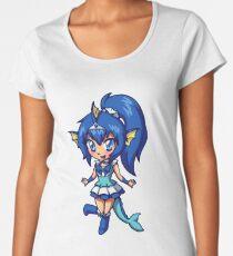 Vaporeon Magical Girl Chibi Women's Premium T-Shirt