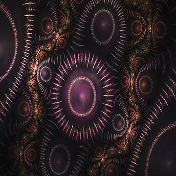 Jeweled Fractal by ColorfulMystic