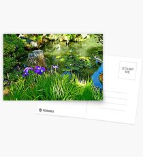 SF Japanese Tea Garden Study 4  Postcards