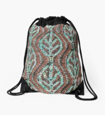 Branches and Leaves (vertical) Drawstring Bag