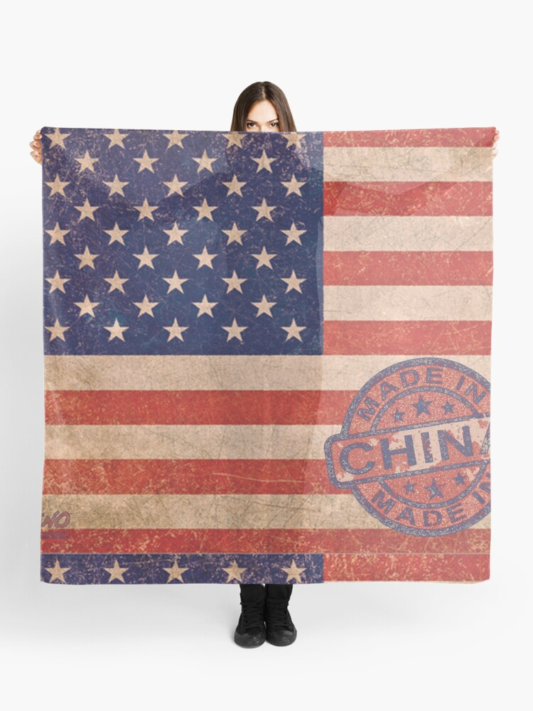 2cc65aaf18f American Flag America USA US United States of America Patriotic Red White  Blue Made In China