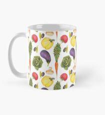 Watercolor Veggies Mug
