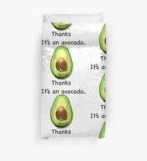 It's an avocado.. thanks Duvet Cover