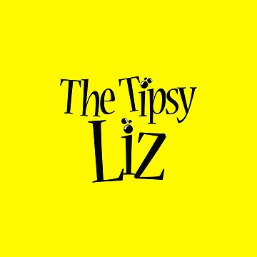 the tipsy liz logo black by 4dplus
