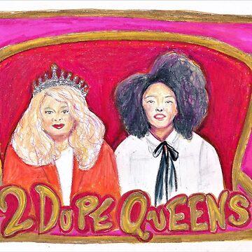 2 Dope Queens by Michaelaart