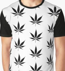 WEED BLACK Graphic T-Shirt