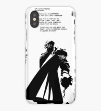 Sin City Dwight McCarthy makes a stand iPhone Case