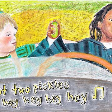 Little Rascals -3rd 'I've got two pickles' by Michaelaart