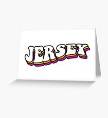 retro jersey Greeting Card