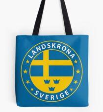 Landskrona, Landskrona Schweden, Landskrona Sverige, Landskrona Aufkleber, Stadt von Schweden Tasche