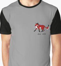 Crafty Fox Designs Australia EST. 2016 Graphic T-Shirt
