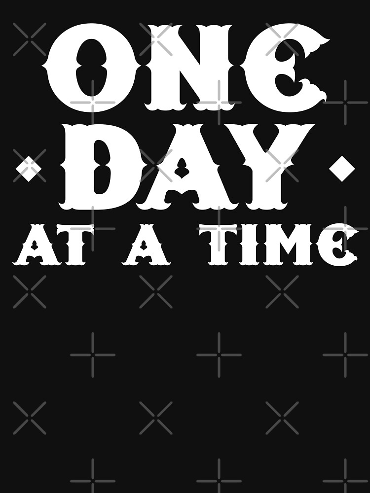 one day at a time by jazzydevil