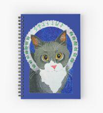 Saint Stanley the Cat Spiral Notebook