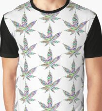 WEED COLOR WEED Graphic T-Shirt