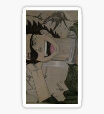 senji dead man wonderland Sticker