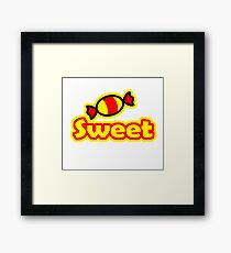 SWEET Framed Print