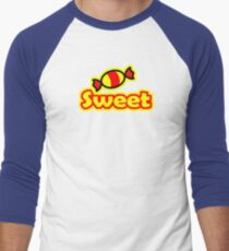 SWEET Men's Baseball ¾ T-Shirt