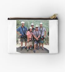 Our Awesome Zipline Group Studio Pouch