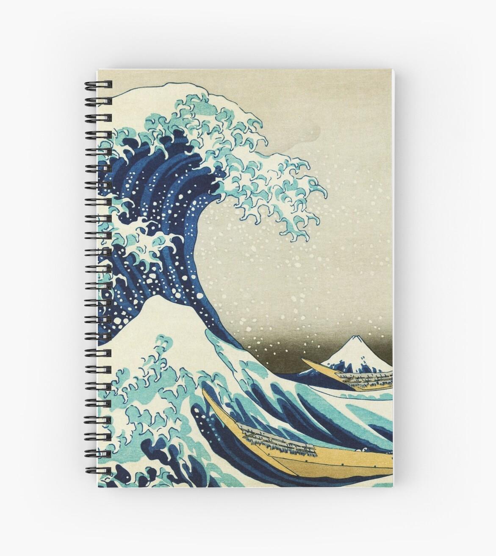 The Great Wave Off Kanagawa By The Japanese Ukiyo E Artist Hokusai