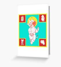 Cherub Greeting Card