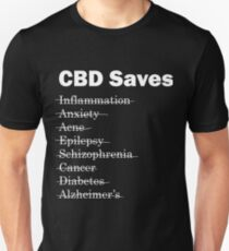 CBD Saves Unisex T-Shirt