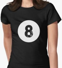Funny 8 Ball Magic Eight Ball Billiards Pool League T-Shirt Women s Fitted  T- 842ae023ec