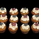 flower cupcakes by tali