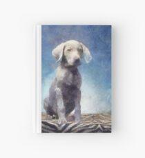 Puppy Hardcover Journal