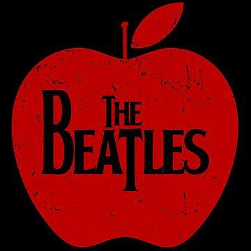 Beatles - Red Apple - Retro Vintage Style Music Shirt by WishingInkwell