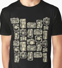 Vintage Camera Tshirt Funny Photographer Photography Shirt Graphic T-Shirt